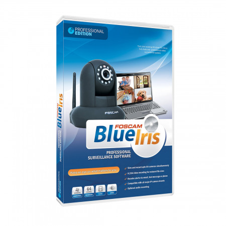 Blue Iris Professional Full Version 4